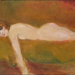 Colette posant nue