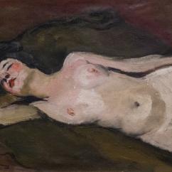 Nu allongé sur un coude, 1925